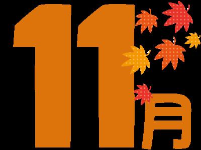 年間イベント11月